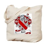 Law Family Crest Tote Bag