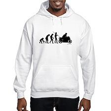 Biker Evolution Hoodie Sweatshirt