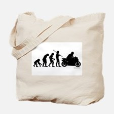 Biker Evolution Tote Bag