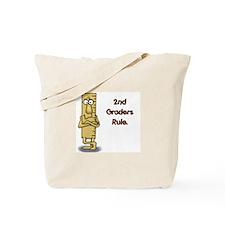 2nd Graders Rule Tote Bag