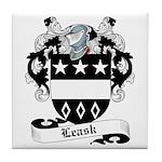 Leask Family Crest Tile Coaster