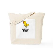 Nursing Chick Tote Bag
