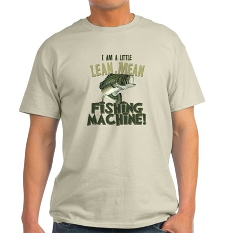 Lean Mean Fishing Machine Light T-Shirt
