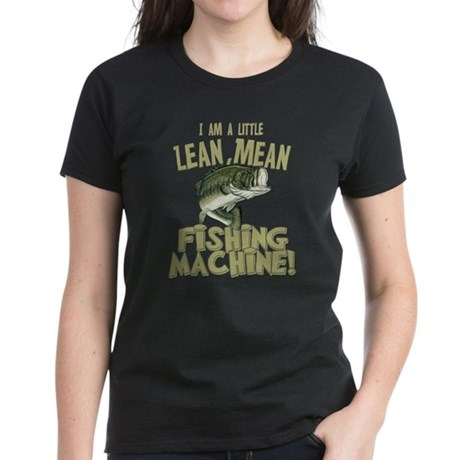 Lean Mean Fishing Machine Women's Dark T-Shirt