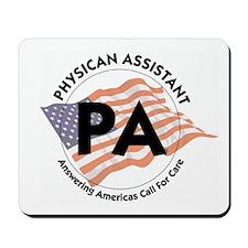 Patriotic Physician Assistant Mousepad