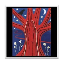 """Tree of Life"" Tile Coaster"