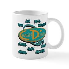 Crash Down with Names Mug