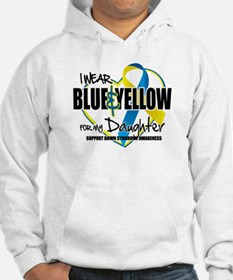 Blue & Yellow for Daughter Hoodie