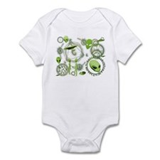 A.L.I.E.N. Arcane Circles 2 Infant Bodysuit
