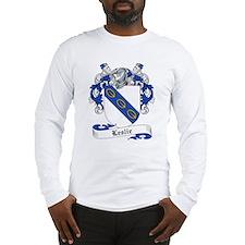 Leslie Family Crest Long Sleeve T-Shirt