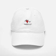 I Love My Parrotlet Baseball Baseball Cap