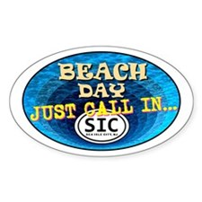 SIC Beach Day Decal