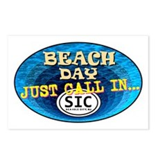 SIC Beach Day Postcards (Package of 8)