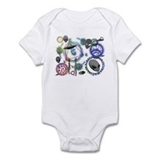 A.L.I.E.N. Arcane Circles 6 Infant Bodysuit