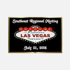 Personalized Las Vegas Rectangle Magnet