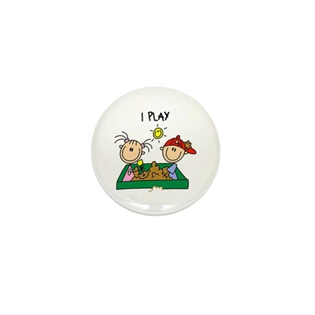 I Play Mini Button