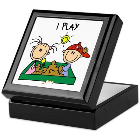 I Play Keepsake Box