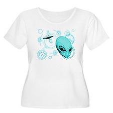 A.L.I.E.N. Language Aqua T-Shirt