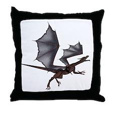 Dragon Designs Throw Pillow