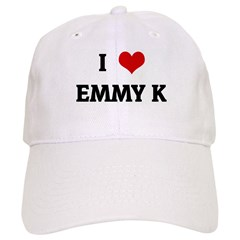 I Love EMMY K Baseball Cap