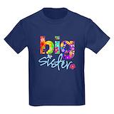 Big sister Kids T-shirts (Dark)