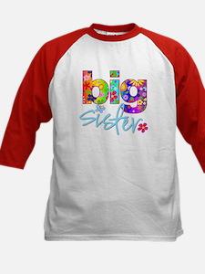big sister t-shirt flower Tee