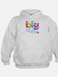 big sister t-shirt flower Hoodie