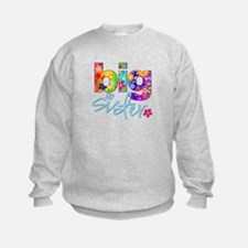 big sister t-shirt flower Sweatshirt