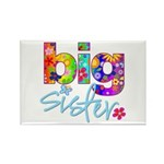 big sister t-shirt flower Rectangle Magnet