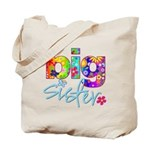 big sister t-shirt flower Tote Bag