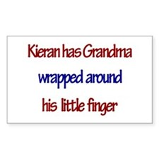Kieran Has Grandma Rectangle Decal