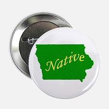 """Iowa Native 2.25"""" Button"""
