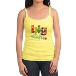 ADULT SIZES big sister bright flower Jr. Spaghetti