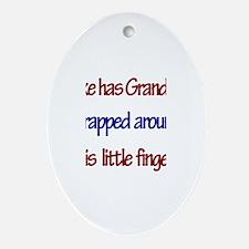 Mike Has Grandma Oval Ornament