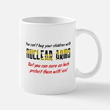 Hug Nuclear Arms Mug