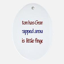 Preston Has Grandma Oval Ornament