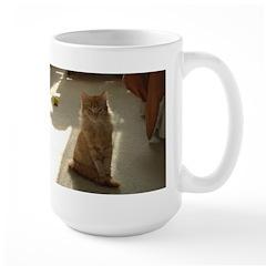 Orange Tabby Kitty Large Mug