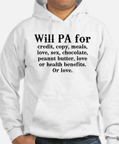 Will PA for love Hoodie