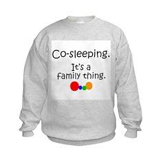 Co-sleeping family Sweatshirt