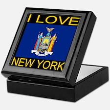 I Love New York Keepsake Box