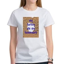 My Turkey Ate My Homework Tee