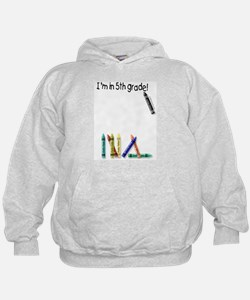 I'm in 5th Grade! Hoodie