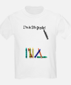 I'm in 5th Grade! Kids T-Shirt