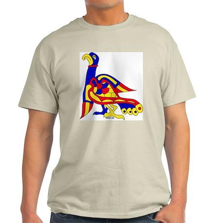 Kells Bird Ash Grey T-Shirt