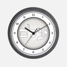 ELIMINATING NEGATIVE THOUGHTS Wall Clock