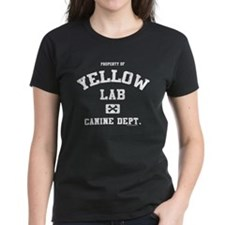 Canine Dept. - Yellow Lab Tee