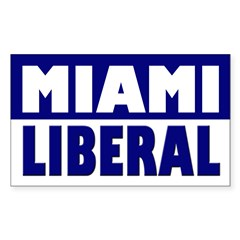 Miami Liberal (bumper sticker)