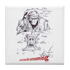 Screaming Trees Tile Coaster