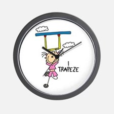 I Trapeze Wall Clock
