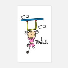 I Trapeze Rectangle Decal